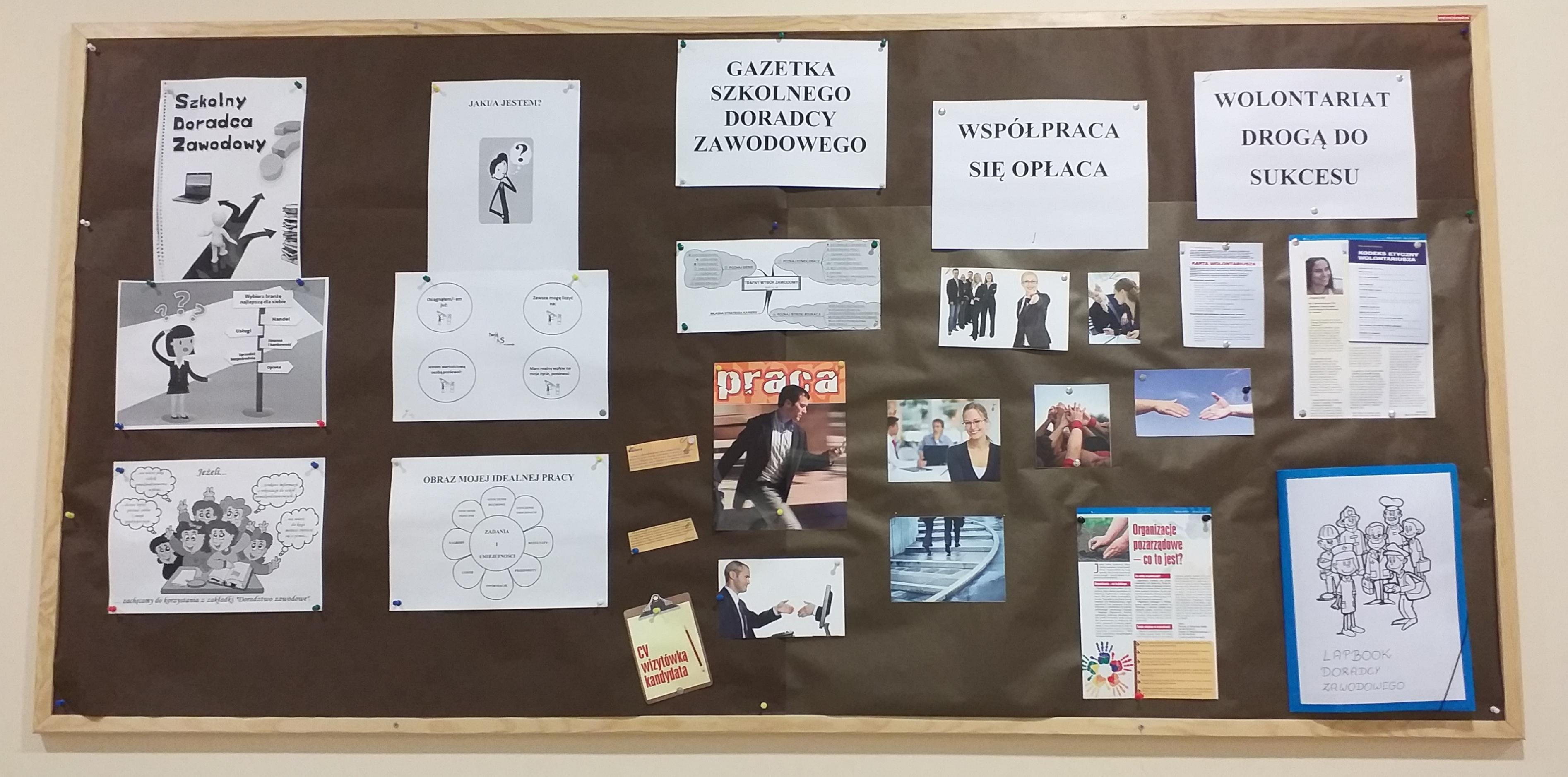 Informacje dla uczniów- doradztwo zawodowe