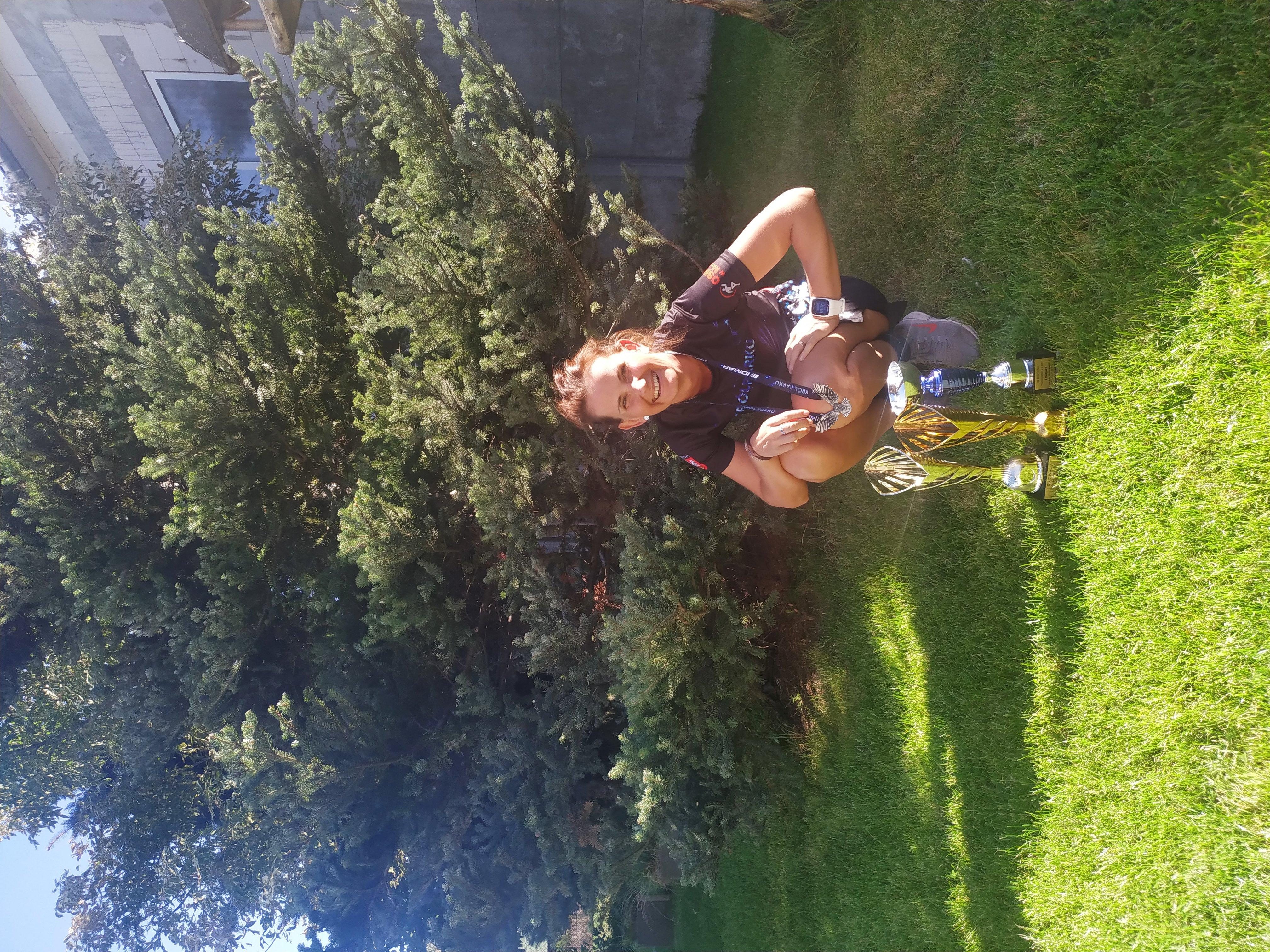 Królowa Parku – sukcesy naszej nauczycielki w półmaratonie