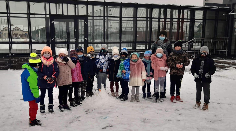 Pierwszy śnieg tegorocznej zimy :)