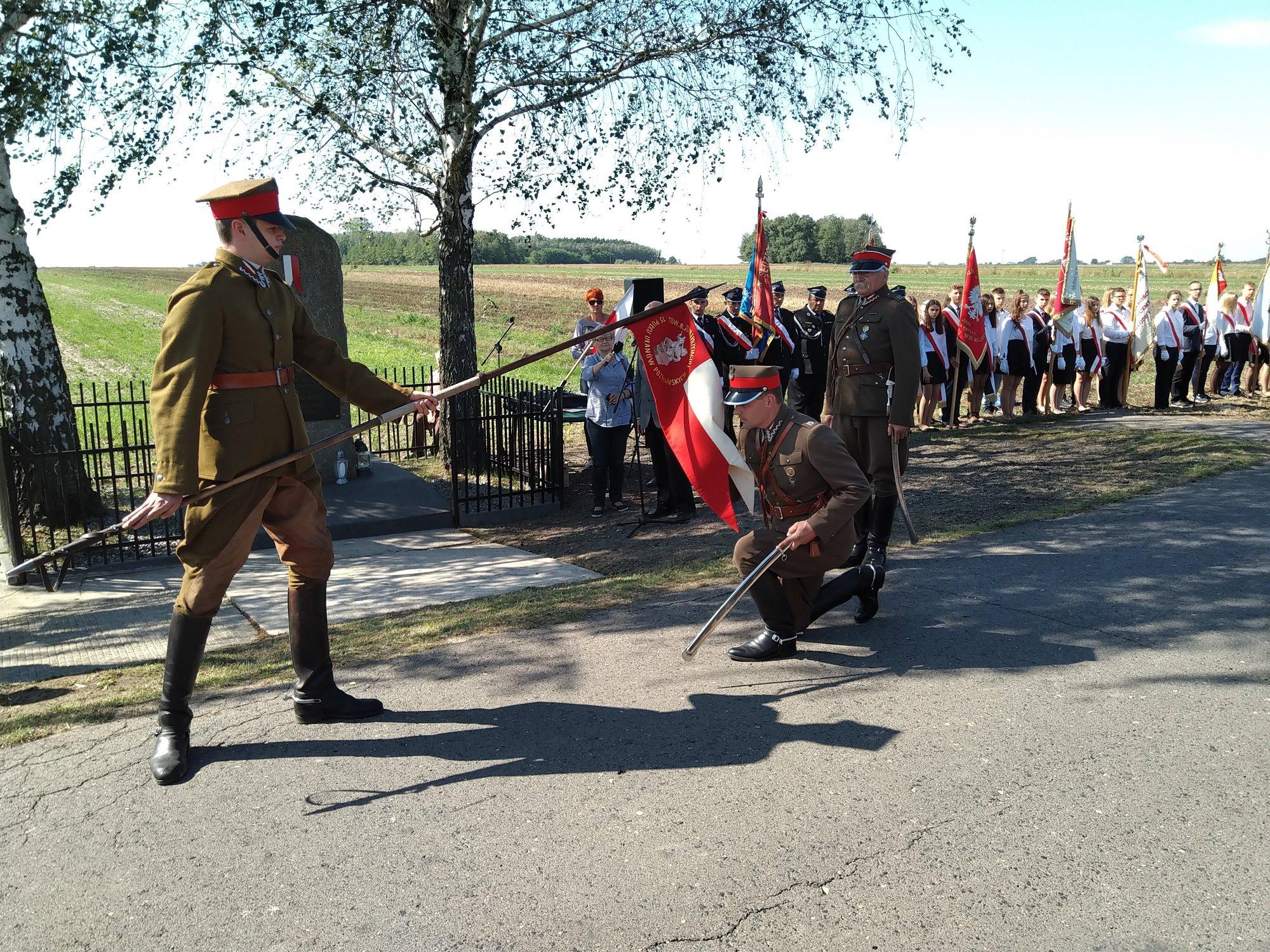 Uroczystość upamiętnienia dowódcy pułku, pułkownika Tadeusza Mikke